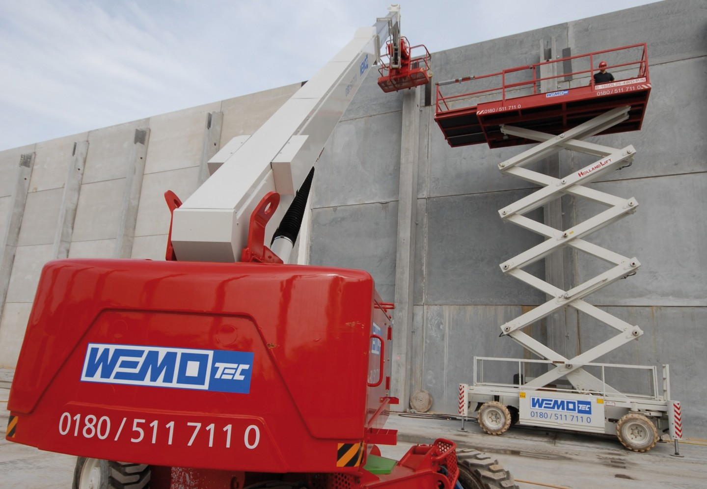 WEMO-tec work platform rental equipment