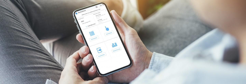 Sycor.Back2Work-App – unkompliziert und easy zu bedienen direkt über das Smartphone.