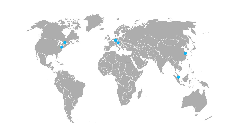20 Jahre Sycor - Unsere Geschichte - Sycor weltweit